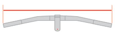 Handlebar width (on mountainbike frame)